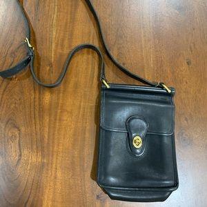 Vtg Coach 9930 Murphy Willis Leather Messenger Bag